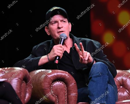 Editorial picture of Charlie Sheen Q&A, Seminole Casino, Coconut Creek, USA - 15 Feb 2020