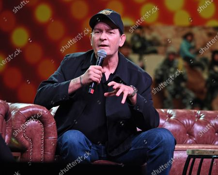 Stock Image of Charlie Sheen