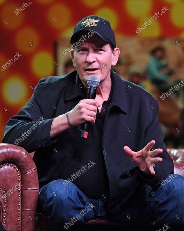 Editorial photo of Charlie Sheen Q&A, Seminole Casino, Coconut Creek, USA - 15 Feb 2020