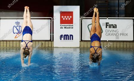 Editorial photo of FINA Diving Grand Prix Madrid 2020, Spain - 16 Feb 2020