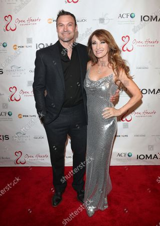 Stock Picture of Brian Austin Green, Jane Seymour