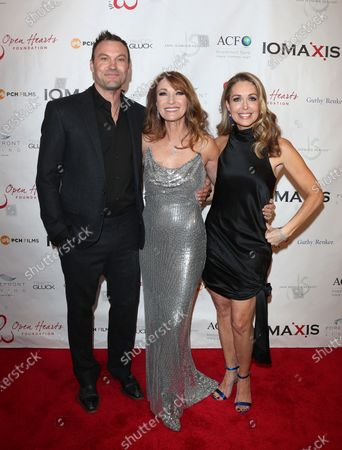 Stock Photo of Brian Austin Green, Jane Seymour, Christi Paul