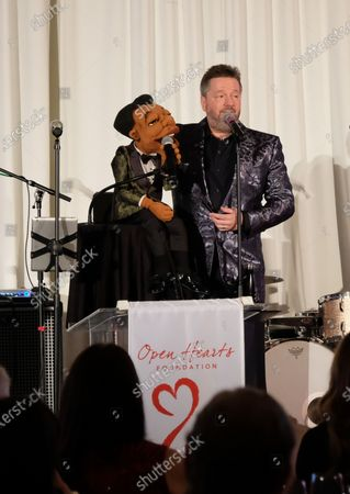 Editorial picture of Open Hearts Foundation 10th Anniversary, Inside, Los Angeles, USA - 15 Feb 2020