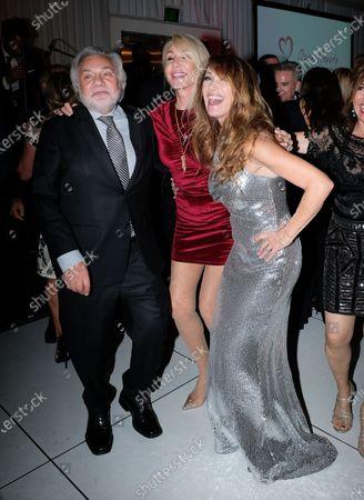 David Gree, Linda Thompson, Jane Seymour