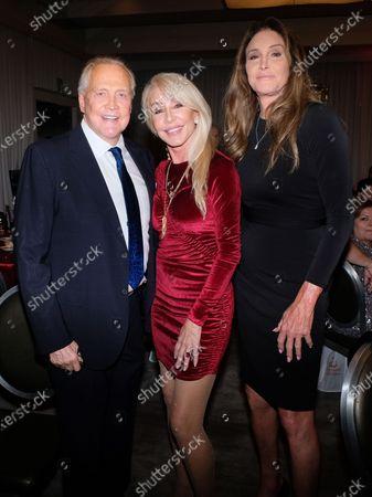 Stock Image of Lee Majors, Caitlyn Jenner, Linda Thompson