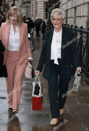 Editorial photo of Victoria Beckham show, Arrivals, Fall Winter 2020, London Fashion Week, UK - 16 Feb 2020