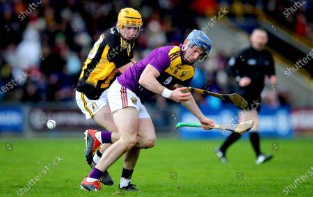Wexford vs Kilkenny. Wexford's Kevin Foley and Billy Ryan of Kilkenny
