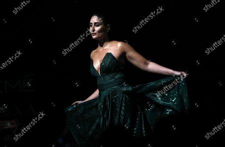 Editorial picture of Amit Aggarwal - Runway - Lakme Fashion Week Summer/Resort 2020, Mumbai, India - 16 Feb 2020