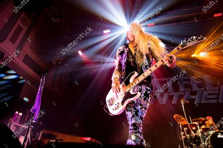 Editorial image of Steel Panther in concert at Ulster Hall, Belfast, UK - 15 Feb 2020