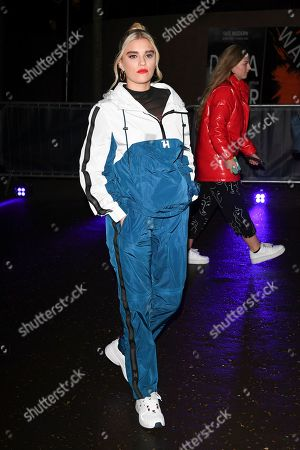 Editorial picture of Tommy Hilfiger show, Arrivals, Fall Winter 2020, London Fashion Week, UK - 16 Feb 2020