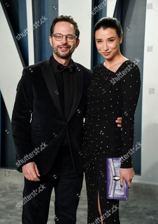 Nick Kroll, Lily Kwong. Nick Kroll, left, and Lily Kwong arrive at the Vanity Fair Oscar Party, in Beverly Hills, Calif