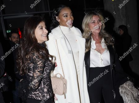 Winnie Harlow and guests