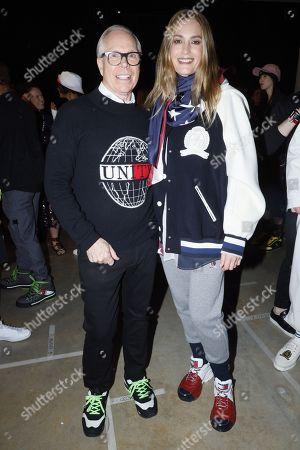 Tommy Hilfiger and Yasmin Le Bon