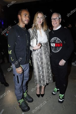 Lewis Hamilton, Dee Ocleppo and Tommy Hilfiger