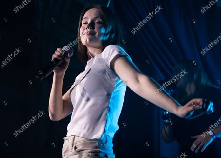 Editorial picture of Sigrid in concert at OMEARA, BRITs Week, London, UK - 16 Feb 2020