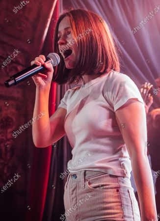 Editorial image of Sigrid in concert at OMEARA, BRITs Week, London, UK - 16 Feb 2020