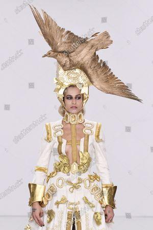 Editorial image of Pam Hogg, Runway, Fall Winter 2020, London Fashion Week, UK - 16 Feb 2020