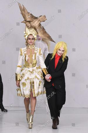 Editorial photo of Pam Hogg, Runway, Fall Winter 2020, London Fashion Week, UK - 16 Feb 2020