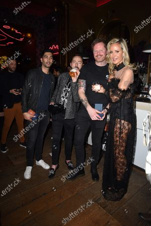 Scott Henshall, Lady Victoria Hervey and guests