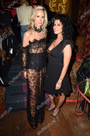 Lady Victoria Hervey and guest