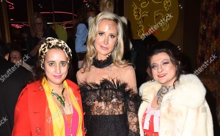 Lady Victoria Hervey and guests