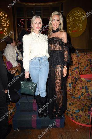 Amanda Cronin and Lady Victoria Hervey