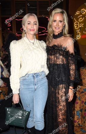 Amanda Cronin and Lady Victoria Hervey