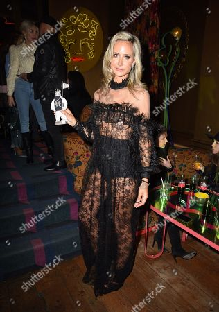 Editorial image of Scott Henshall & Lady Victoria Hervey 'Hervey Henshall' brand launch party, Fall Winter 2020, London Fashion Week, UK - 16 Feb 2020
