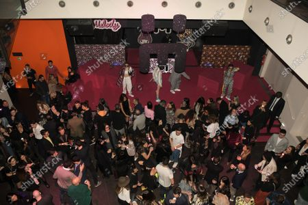 Editorial picture of Elettra Lamborghini collection exclusive party, Fall Winter 2020, nhow Hotel, Milan, Italy - 16 Feb 2020