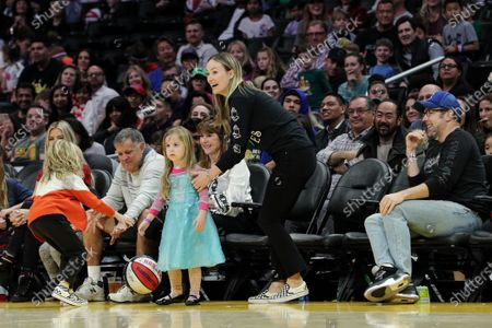 Editorial photo of Celebrities attend Harlem Globetrotters game, Los Angeles, USA - 16 Feb 2020
