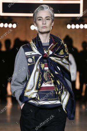 Editorial photo of Tommy Hilfiger show, Runway, Fall Winter 2020, London Fashion Week, UK - 16 Feb 2020