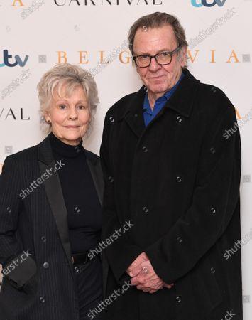 Diana Hardcastle and Tom Wilkinson