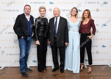 Editorial photo of 'Belgravia' TV show photocall, London, UK - 17 Feb 2020