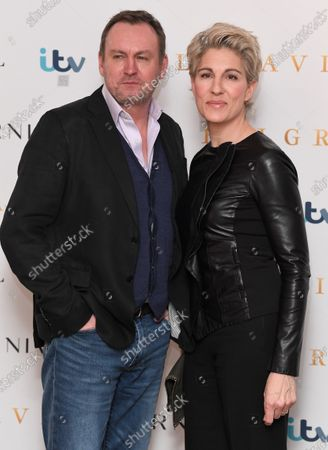 Philip Glenister and Tamsin Greig