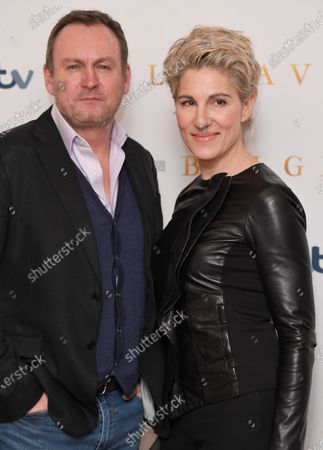 Stock Picture of Philip Glenister and Tamsin Greig