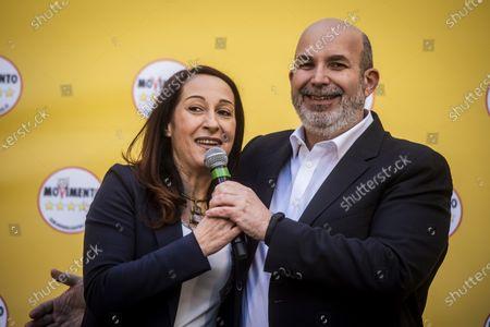 Paola Taverna and Vito Crimi