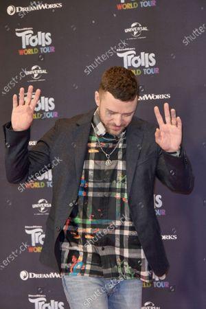 Stock Image of Justin Timberlake