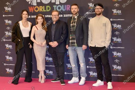 Editorial picture of 'Trolls World Tour' film photocall, Berlin, Germany - 17 Feb 2020