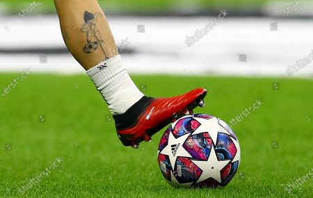 Tattoo Footballer On Leg Alejandro Gomez Atalanta Editorial Stock Photo Stock Image Shutterstock