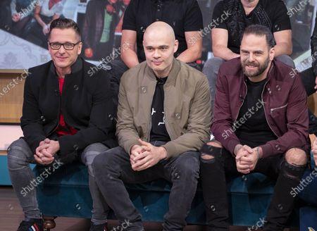 Stock Image of 5IVE - Sean Conlon, Ritchie Neville, and Scott Robinson