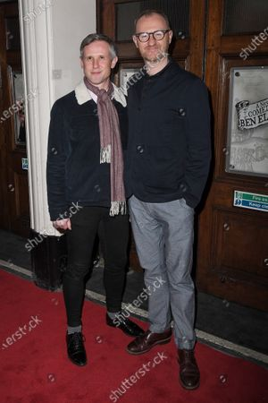 Stock Picture of Ian Gatiss and Mark Gatiss