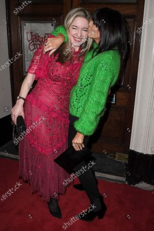 Editorial picture of 'Upstart Crow' play press night, Arrivals, Gielgud Theatre, London, UK - 17 Feb 2020