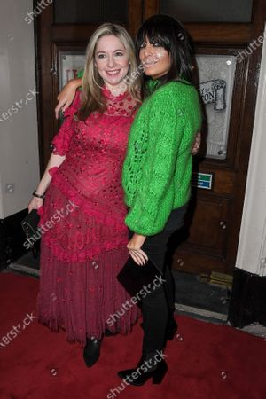 Stock Picture of Victoria Coren Mitchell and Claudia Winkleman