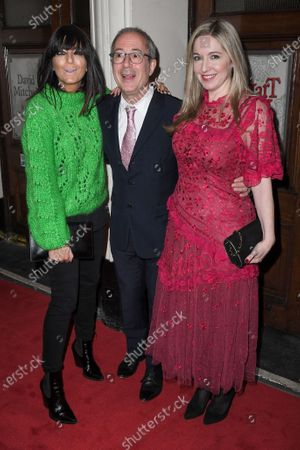 Editorial image of 'Upstart Crow' play press night, Arrivals, Gielgud Theatre, London, UK - 17 Feb 2020
