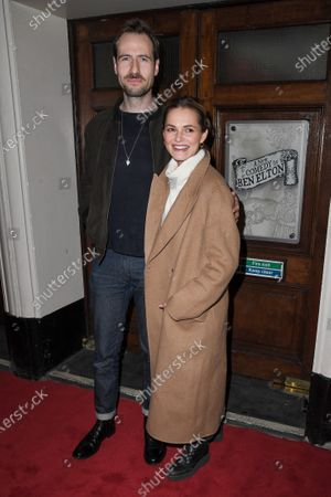 Kara Tointon (R) and guest