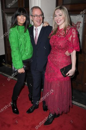 Claudia Winkleman, Ben Elton and Victoria Coren Mitchell