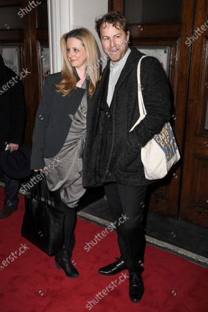 Editorial photo of 'Upstart Crow' play press night, Arrivals, Gielgud Theatre, London, UK - 17 Feb 2020
