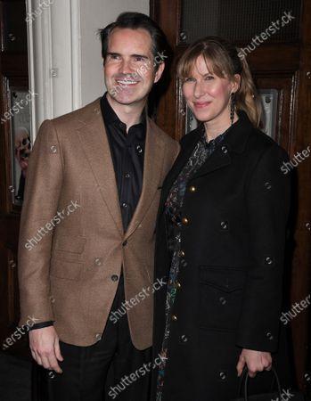 Jimmy Carr and Karolina Carr
