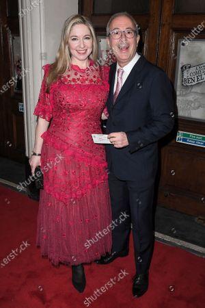 Stock Photo of Victoria Coren Mitchell and Ben Elton