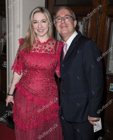 Stock Picture of Victoria Coren Mitchell and Ben Elton